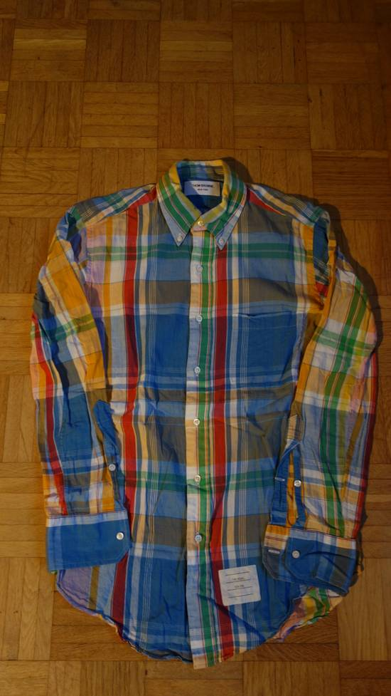 Thom Browne Checked Madras Shirt Size US M / EU 48-50 / 2 - 1