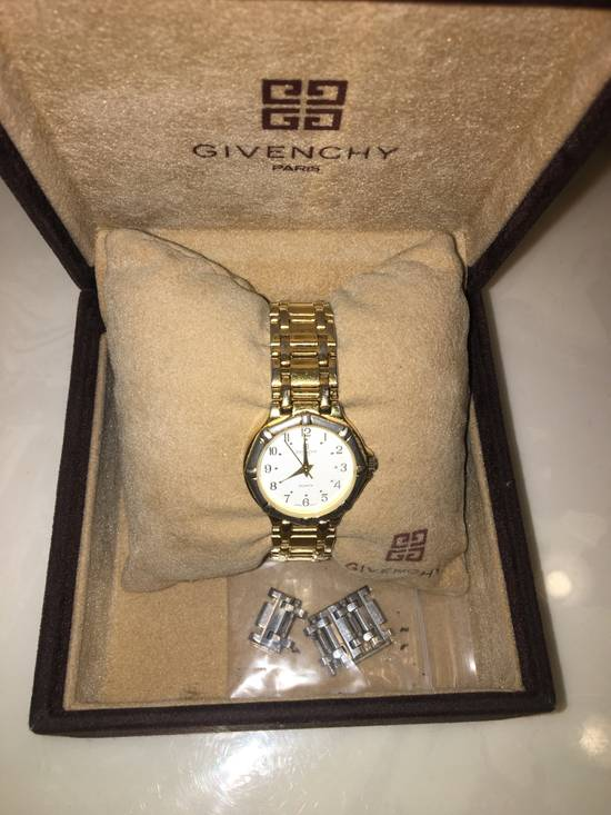 Givenchy Givenchy Gold Plated Dress Watch Size ONE SIZE