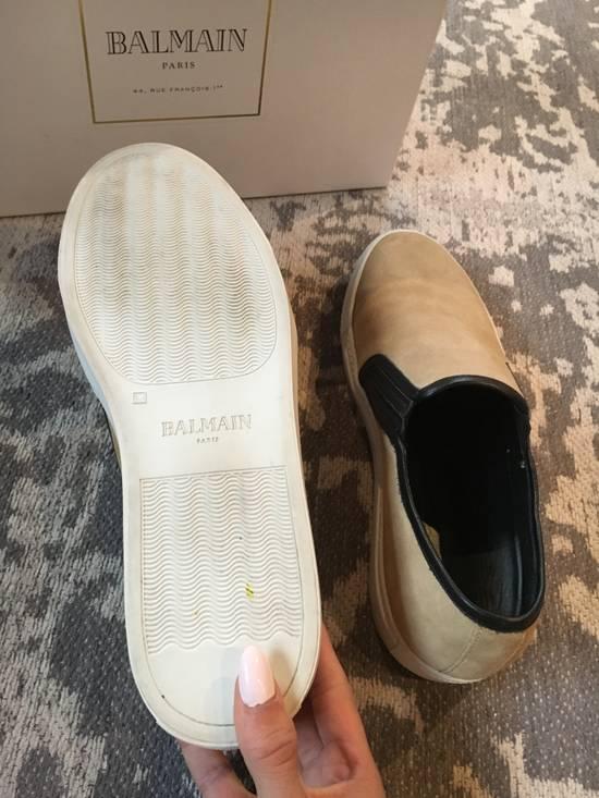 Balmain Balmain Beige Suede Slip On Sneakers Size US 9 / EU 42 - 2