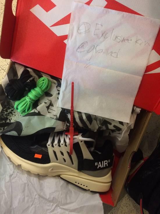 Nike NIKE X OFF WHITE PRESTOS Size US 11 / EU 44