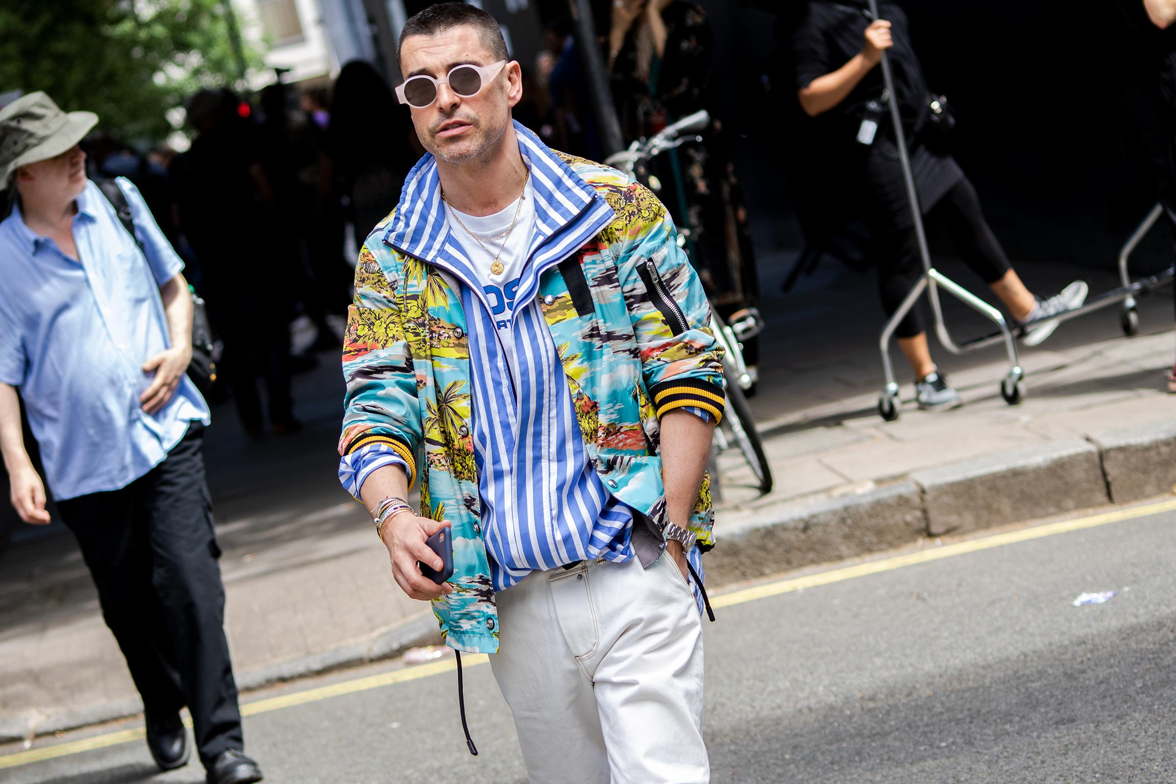 Paris Men's Fashion Week Street Style: Adidas, Gucci Y 3
