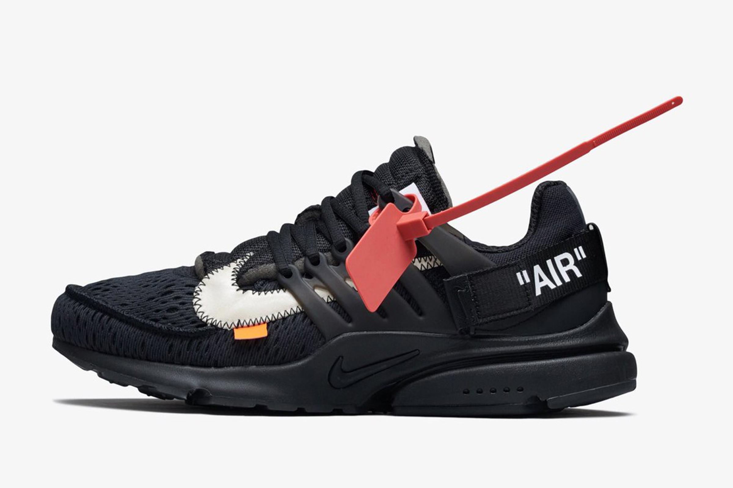 outlet store 598f6 3cbca The Second Off-White x Nike Air Presto Drops This Friday - Off White Nike  Prestos Drop - Heroine